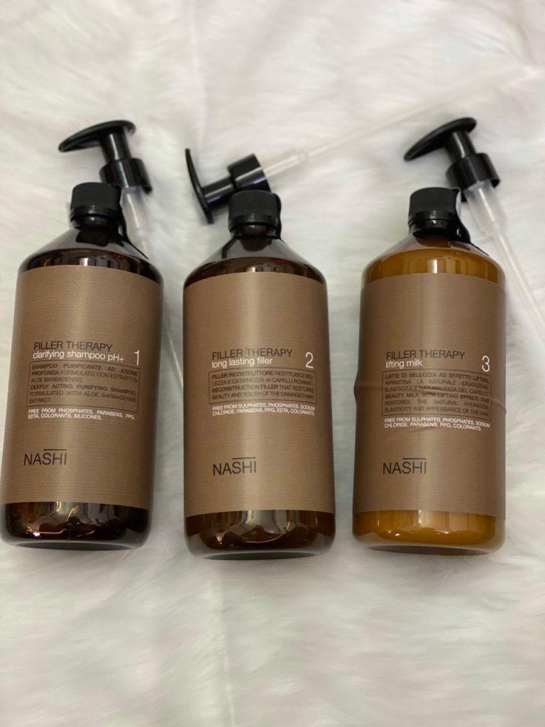 phục hồi tóc hư tổn nặng Nashi Filler Therapy 1000ml