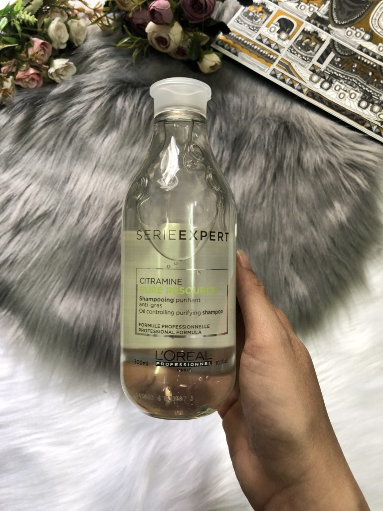 Dầu gội chăm sóc da đầu dầu Loreal Pure Resource Citramine 300ml