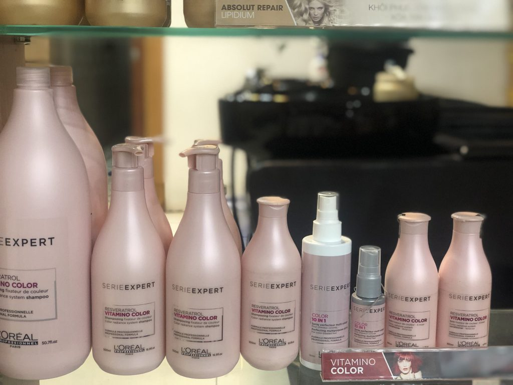 Dầu gội Loreal dành cho tóc nhuộm
