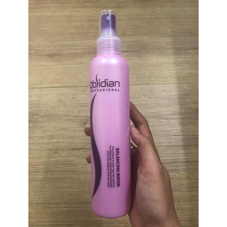 Nước hoa hồng dưỡng tóc Obsidian Balancing Water 250ml