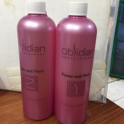 Thuoc uong nong setting Obsidian Power Well Perm 500ml
