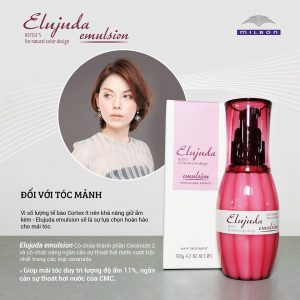sua-duong-milbon-cho-toc-manh-Deesse's-Elujuda-Emulsion-120g