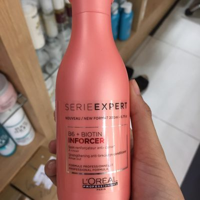 dau xa giup toc chac khoe va giam dut gay Loreal Inforcer Conditioner 200ml