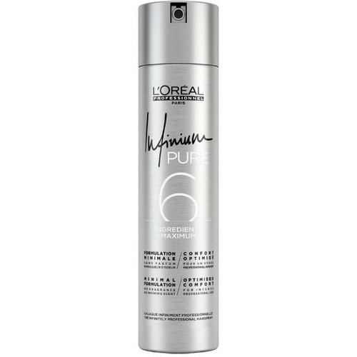 Keo xịt tạo kiểu tóc định hình nếp tóc Loreal Infinium Pure 6 300ml